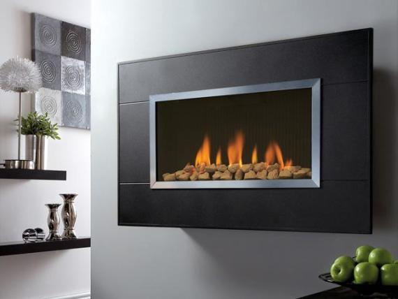 Wall Mounted Gas Fires and Flueless Fireplaces ...